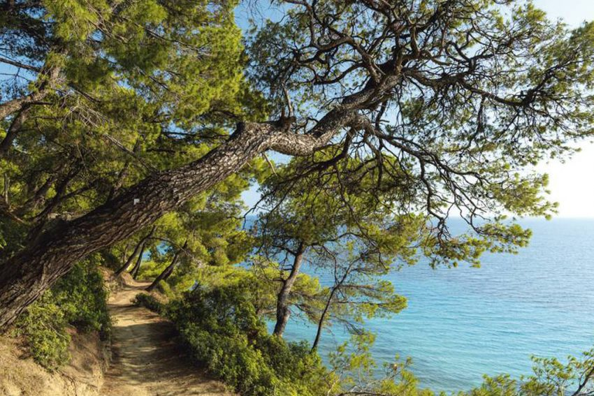 hiking route siviri