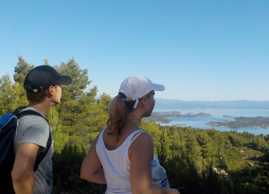 hiking sithonia halkidiki