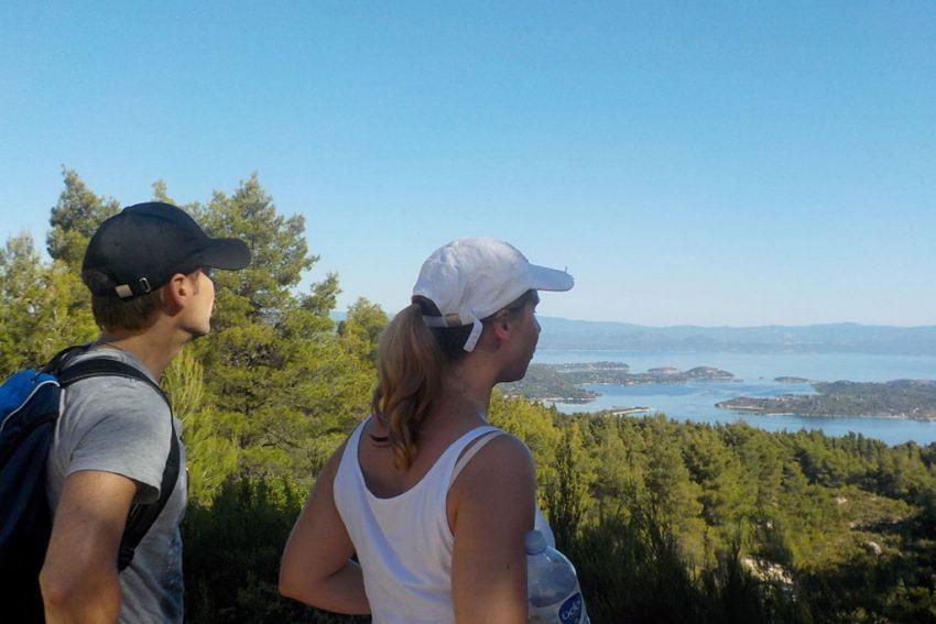 hiking sithonia halkidiki