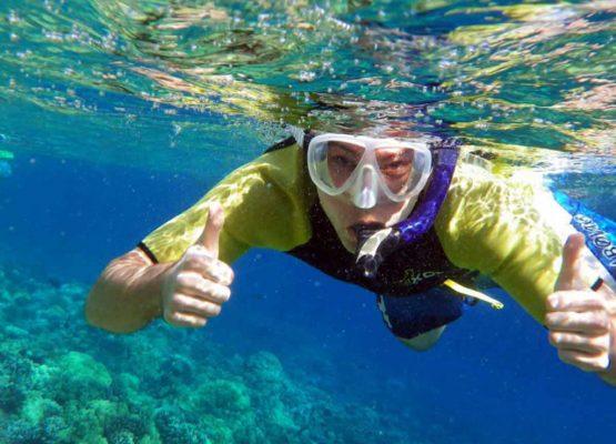 snorkeling kassandra